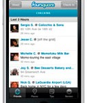 Foursquare Application for Mobile Phones