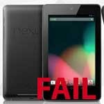 Buy a Google Nexus 7 in the UK – FAIL