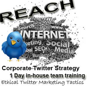 Corporate Twitter Marketing Training